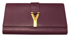 Saint Laurent purple Clutch