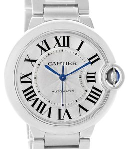 Cartier Cartier Ballon Bleu Steel Midzize Ladies Watch W6920046 Box Papers
