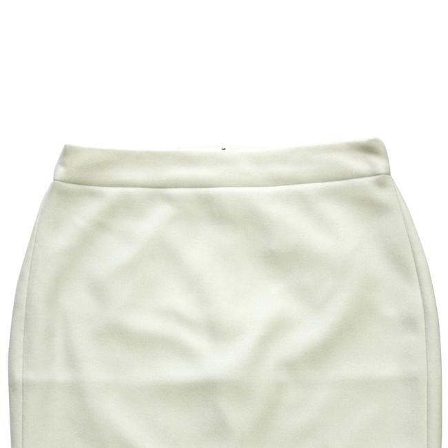 J.Crew Pencil Double-serge Wool Petite Skirt Ivory Image 1