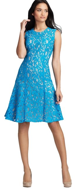 Anne Klein Lace A-line Dropped Waist Dress