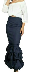 Maxi Skirt Blue denim