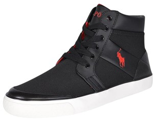 Polo Ralph Lauren Men's Sneakers Black Athletic