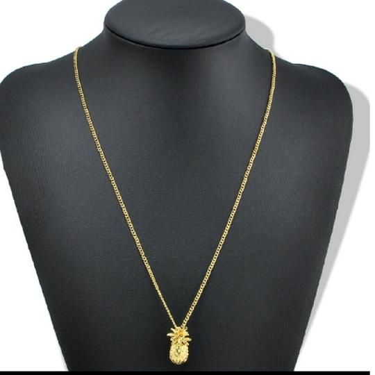 Other Gold tone Pineapple neckless Image 1