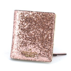 Kate Spade Rose Gold Glitter Bug Small Stacey