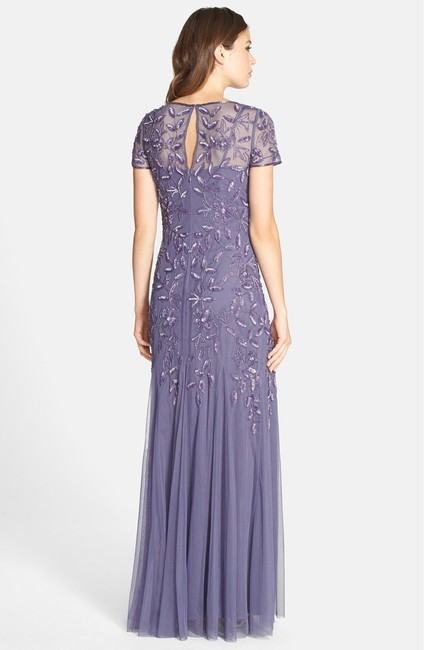 Adrianna Papell Hunter Gown Mother Of The Bride Bridesmaid Dress Image 3