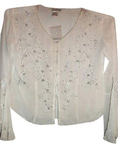 Newport News Silk Top Antique white