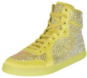 Gucci Sneakers Sneakers High Tops High Top Sneakers Yellow Athletic