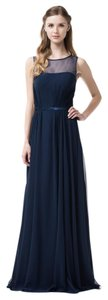 Bicici & Coty Bateau Neck Evening Chiffon Tr261012 Sleeveless Dress