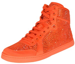 cb7ed2cc5d8e Gucci Sneakers Sneakers High Top Sneakers High Tops Orange Athletic