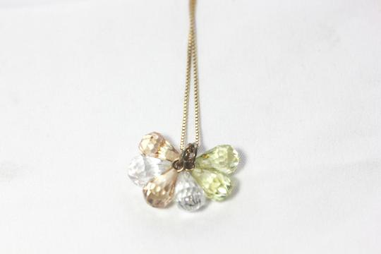 Other Peidot and Topaz Trio Necklace Image 4