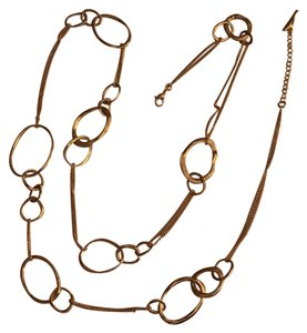 Chloe+Isabel Long hand hammered necklace