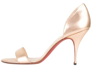 Christian Louboutin Rose Gold Pumps