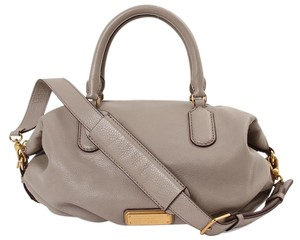 Marc by Marc Jacobs Grey Leather Gold Shoulder Bag