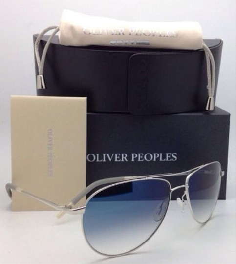 Oliver Peoples Photochromic OLIVER PEOPLES Sunglasses BENEDICT OV 1002-S 4130 Silver Image 1