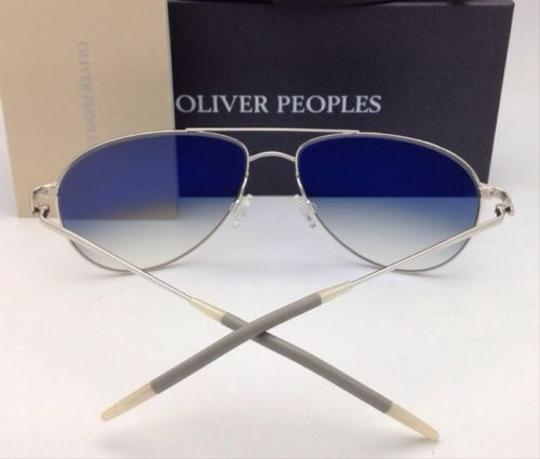 Oliver Peoples Photochromic OLIVER PEOPLES Sunglasses BENEDICT OV 1002-S 4130 Silver Image 2