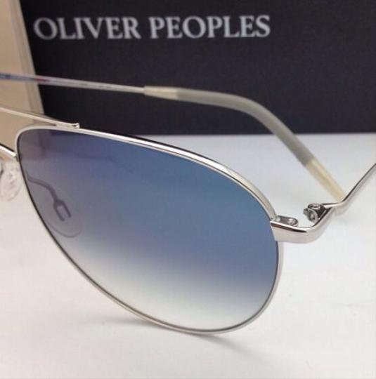 Oliver Peoples Photochromic OLIVER PEOPLES Sunglasses BENEDICT OV 1002-S 4130 Silver Image 3