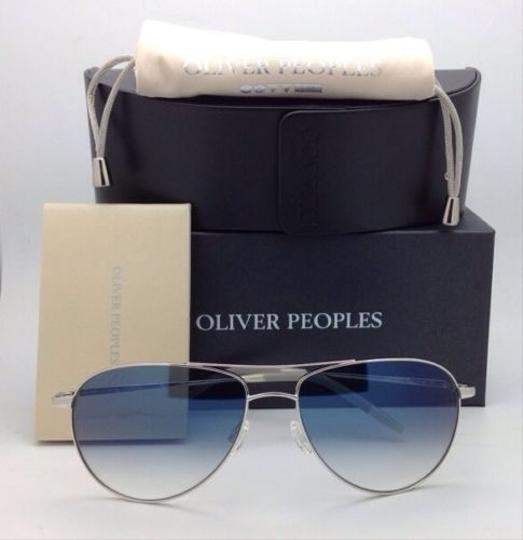 Oliver Peoples Photochromic OLIVER PEOPLES Sunglasses BENEDICT OV 1002-S 4130 Silver Image 4