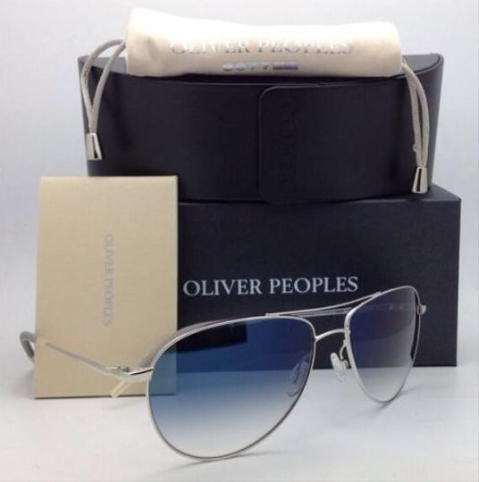 Oliver Peoples Photochromic OLIVER PEOPLES Sunglasses BENEDICT OV 1002-S 4130 Silver Image 5