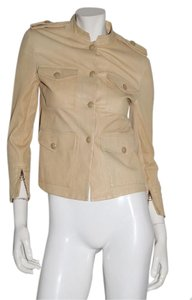 3.1 Phillip Lim Cream Leather Jacket