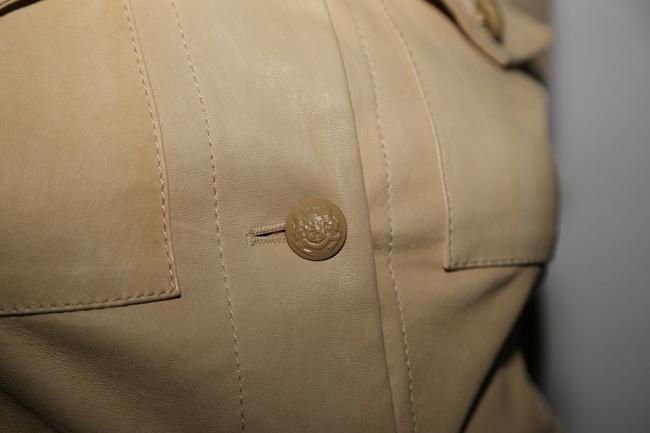 3.1 Phillip Lim Cream Leather Jacket Image 5