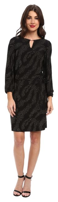 Tahari Long Sleeves Shift Dress