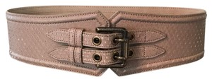 Burberry Burberry Runway Python High Waist Belt