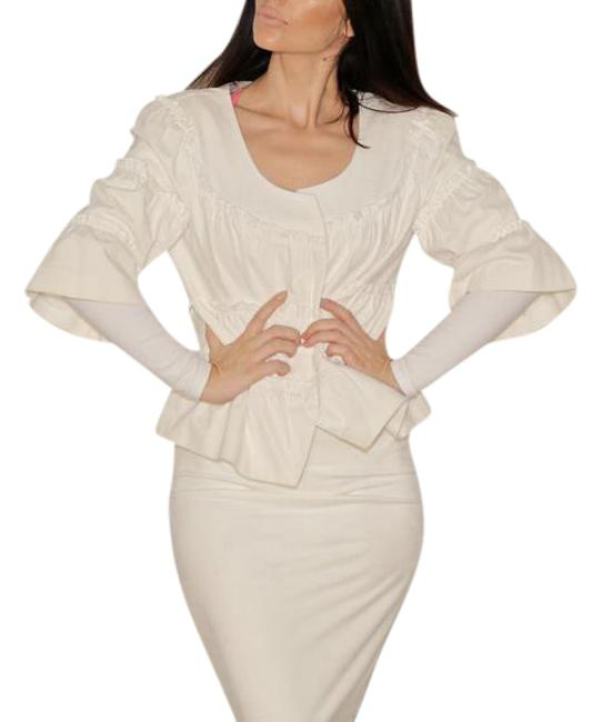 Preload https://img-static.tradesy.com/item/20549287/anne-fontaine-white-nucia-ruffle-spring-jacket-size-8-m-0-1-650-650.jpg