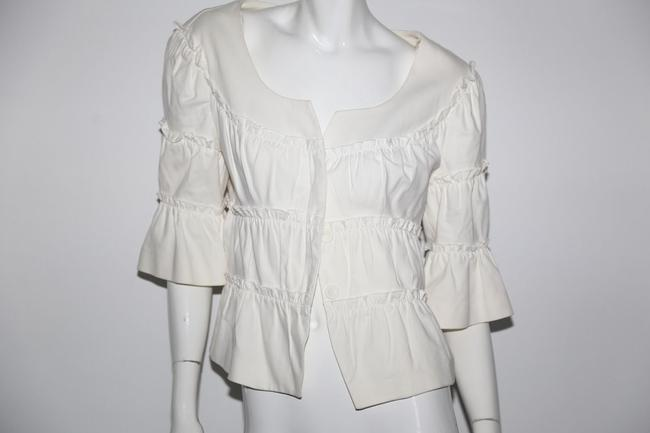 Anne Fontaine White Jacket Image 7