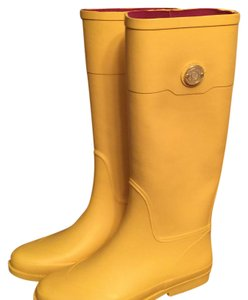 Tommy Hilfiger yellow Boots