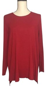 Eileen Fisher Top red