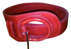 Anne Fontaine Anne Fontaine red leather belt