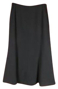 Jones New York Wool Long Skirt Black