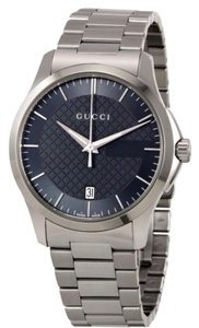 Gucci Gucci G-Timeless Grey Dial Stainless Steel Unisex Watch
