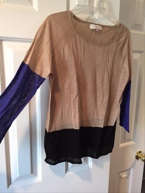 Ann Taylor LOFT Color-blocking Sweater