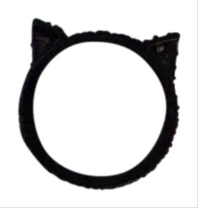 Kate Spade Kate Spade Jazz things up cat ears ring sz 6