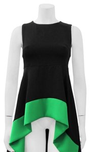 Gracia Top Black with green