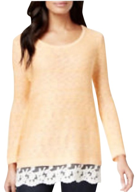 Preload https://img-static.tradesy.com/item/20549547/style-and-co-coral-sweaterpullover-size-16-xl-plus-0x-0-1-650-650.jpg