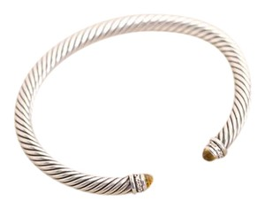 David Yurman David Yurman Cable Classic Bracelet with Citrine/Diamonds 5mm