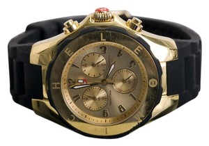 Michele Tahitian Jelly Bean' Gold Plated Watch, 40mm