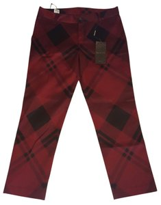 Gucci Capris red and black