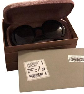 Miu Miu Miu Miu MU07QS Sunglasses Black w/Brown Lilac Gradient Lens 1AB3H0 SMU07Q For Women