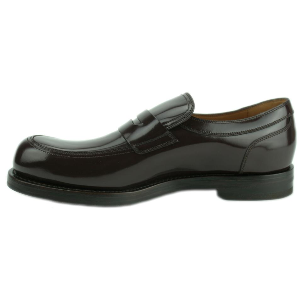 eebdbb7464b Gucci 386541 Loafer Patent Leather Loafer Brown Flats Image 9. 12345678910