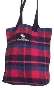 Abercrombie & Fitch Tote in plaid Multicolor