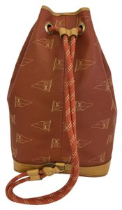 Louis Vuitton Lv Sail Cups Saint Tropez Bucket Canvas Backpack