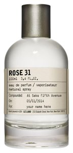 Le Labo Le Labo Rose 31 EDP filled in 10ML Refillable Perfume Spray