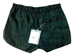 Acne Studios Dress Shorts Green