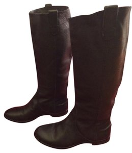 Madewell Leather Knee High Black Boots