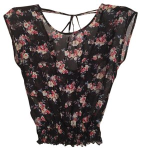 Wet Seal Top Black