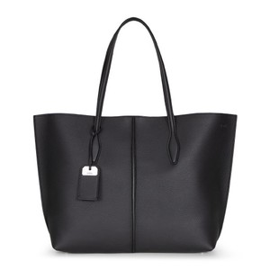 Tod's Travel Soft Luxury Classic Tote in Black