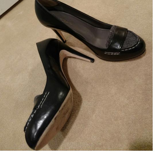 Cole Haan Black and grey flannel Pumps Image 1
